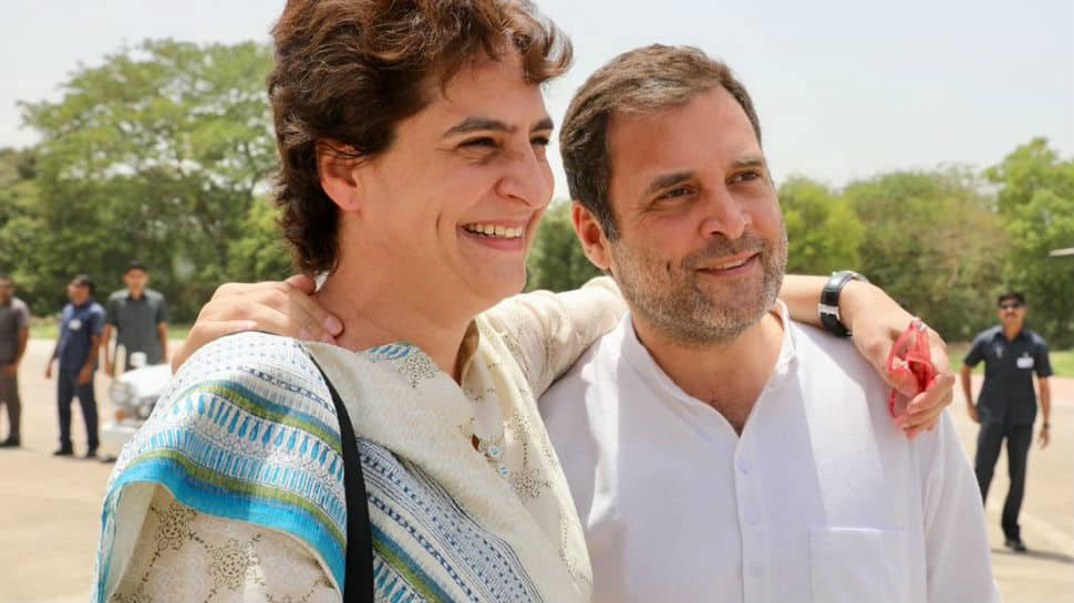 Watch: Rahul Gandhi shares video of brief meeting with Priyanka Gandhi Vadra, explains what it means to be a good brother