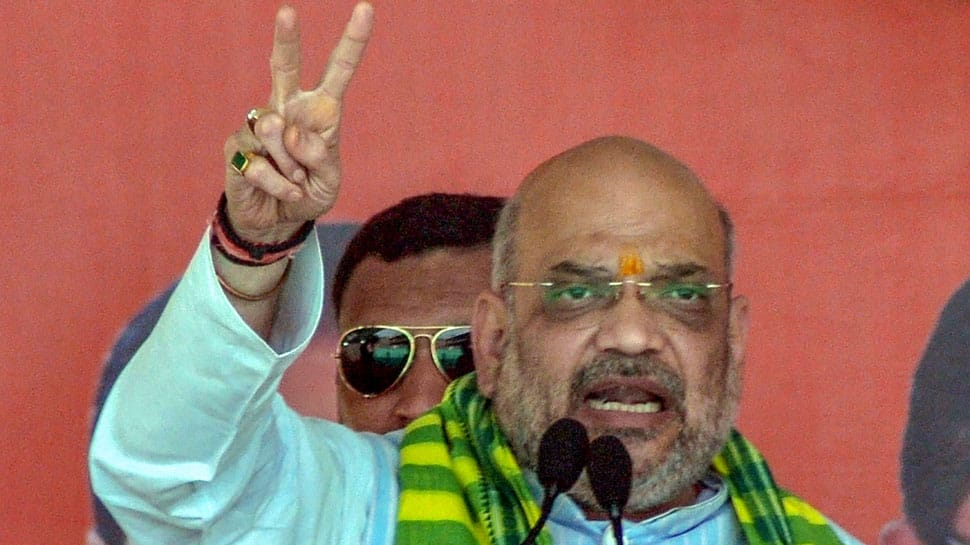 PM Modi works 18 hours a day while Rahul Gandhi takes leave every two months: Amit Shah