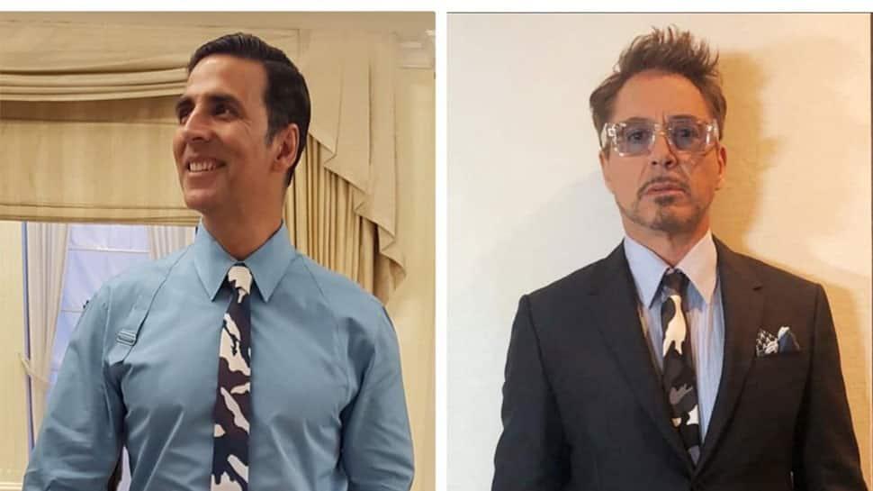 When 'Padman 'Akshay Kumar had a ''tie-faceoff'' with Iron Man