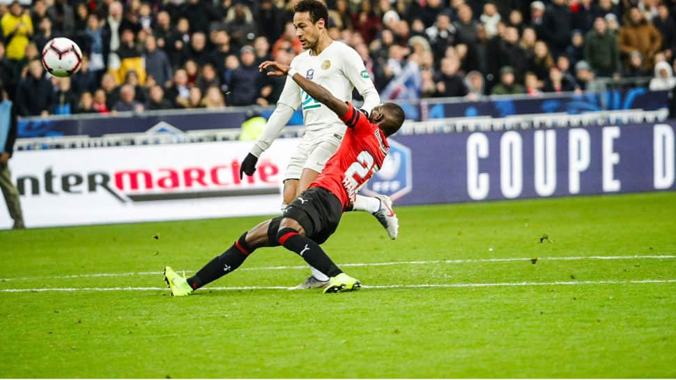 Rennes stun Paris St Germain to win French Cup on penalties