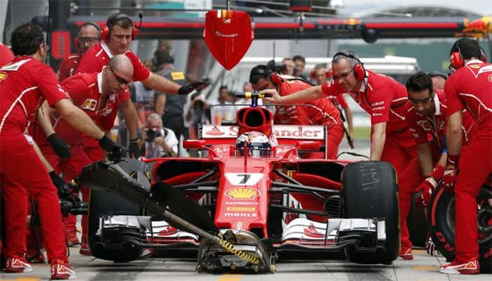 Kimi Raikkonen joins Pierre Gasly and Robert Kubica in Baku pitlane start