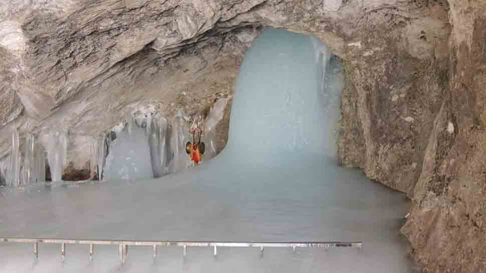 Devotees claim they visited Amarnath cave two months before official yatra begins, share first pictures of shivling