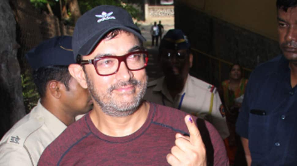 Bollywood celebrities vote in Maharashtra