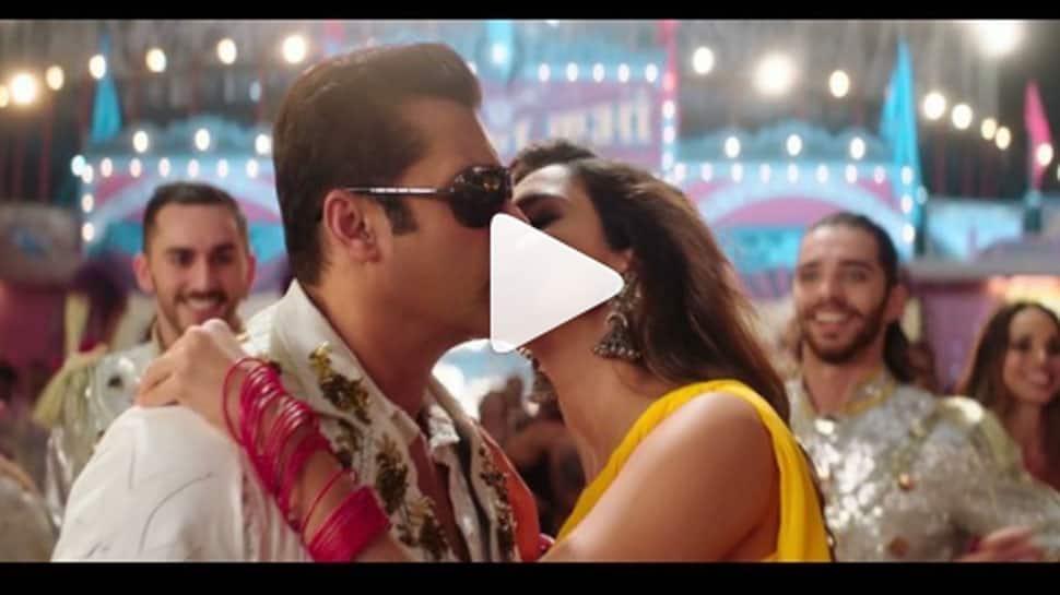 Salman Khan-Disha Patani's 'Slow Motion' making video shows BTS fun—Watch