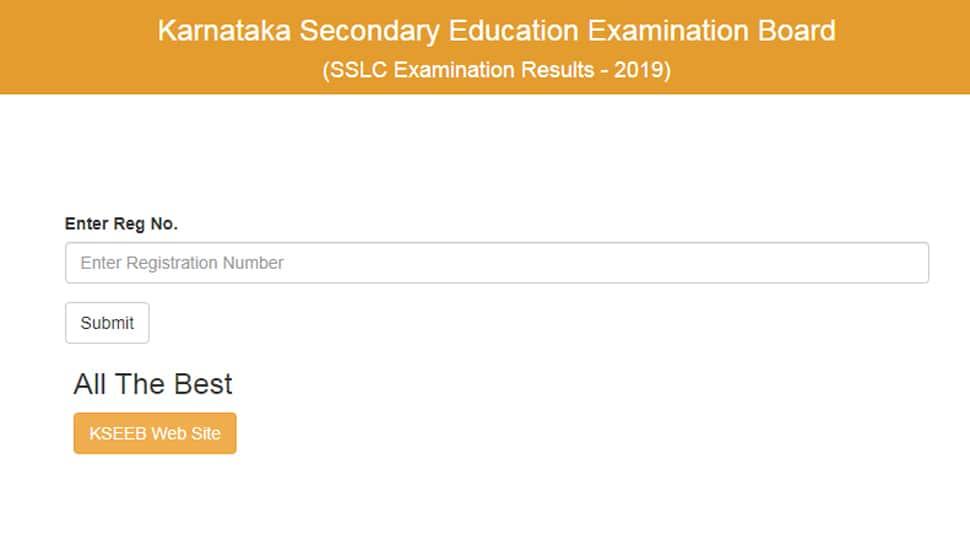 KAR SSLC 2019 class 10 results: Karnataka Board (KSEEB) announces class 10 results on karresults.nic.in; 73.70 is overall pass percentage