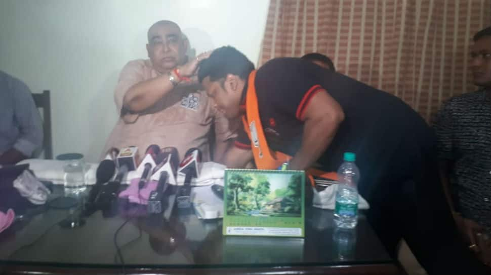 BJP candidate Anupam Hazra defends meeting TMC leader on poll day, calls it a courtesy visit