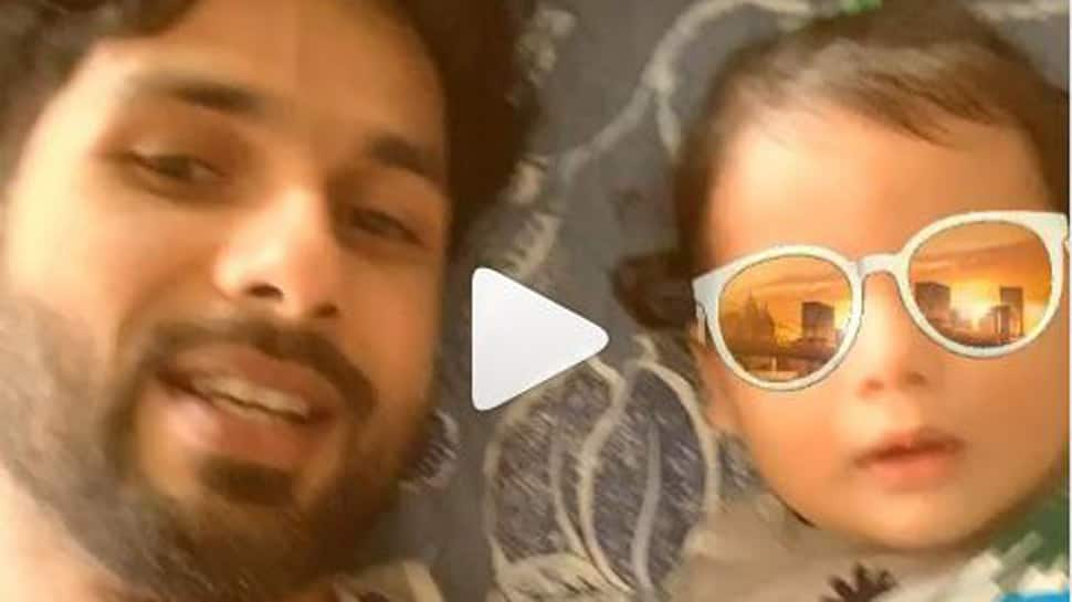 Shahid Kapoor's latest video with son Zain Kapoor is too cute to miss-Watch