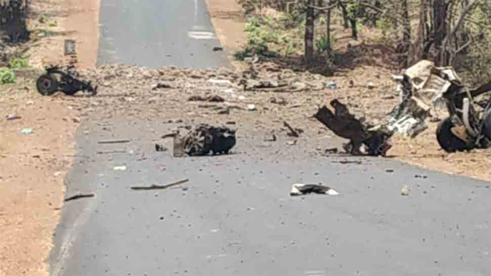 15 QRT commandos martyred in Maharashtra's Gadchiroli as Naxals blow vehicle