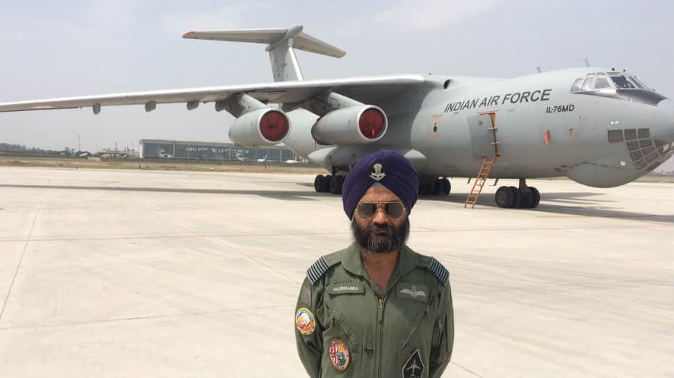IAF salutes braveheart pilot for 1000 landings at Leh and Thoise's arduous airfields