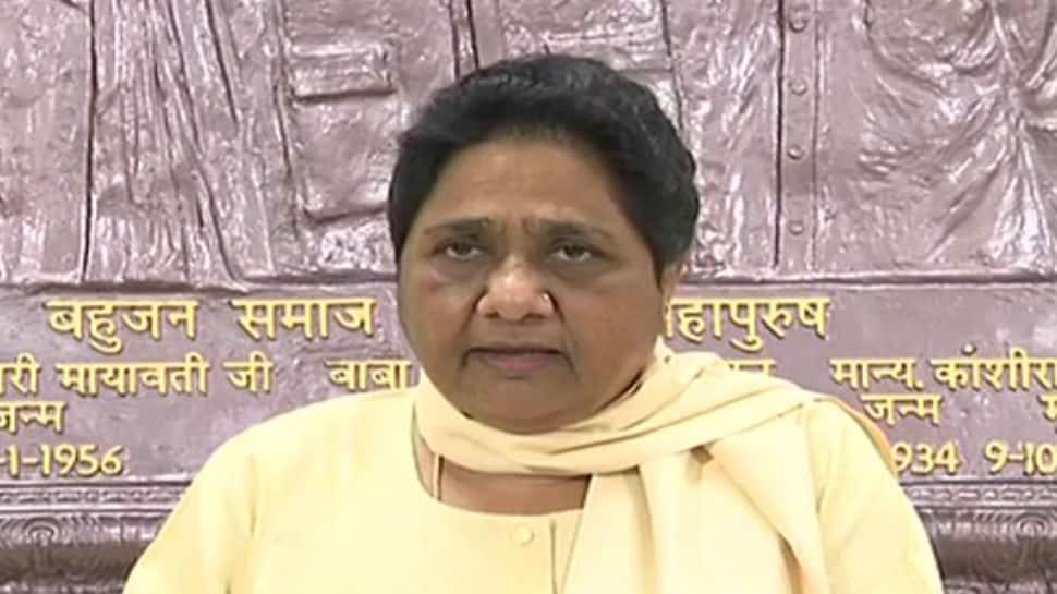 Mayawati targets BJP over Masood Azhar listing