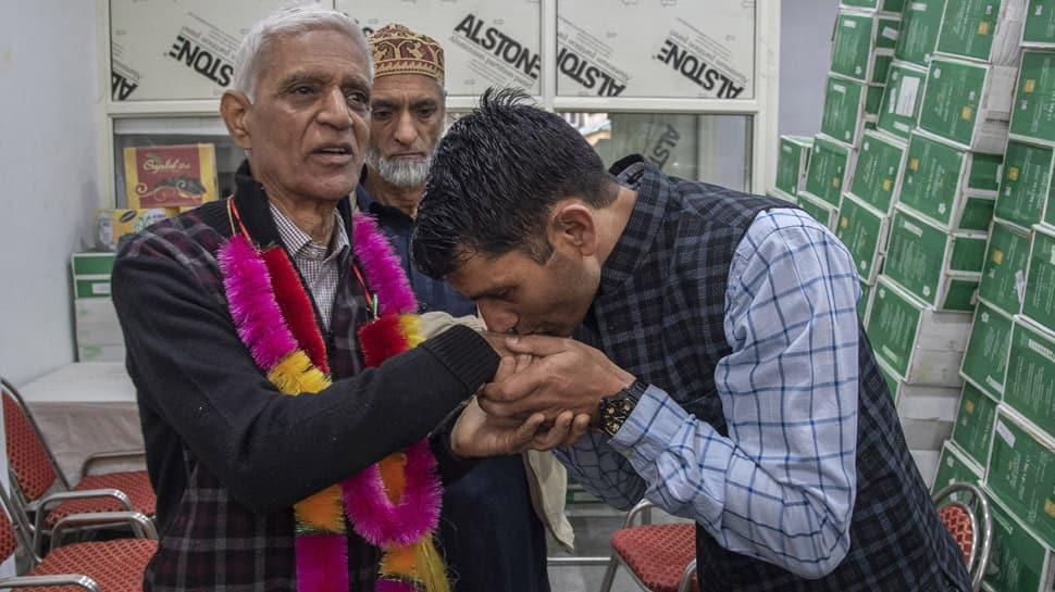 After almost 30 years, a Kashmiri Pandit returns home in Jammu and Kashmir's Srinagar