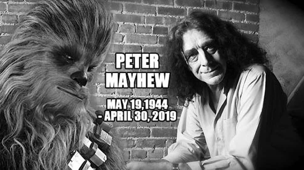 Peter Mayhew, actor who played Chewbacca in 'Star Wars' movies, dies at 74