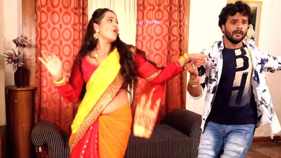Khesari Lal Yadav-Kajal Raghwani's sensational song 'Sutala Tani Kora Mein' crosses 100 mn views on YouTube—Watch