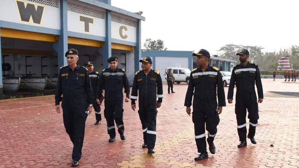 Cyclone Fani: Indian Navy Chief-designate Vice Admiral Karambir Singh visits Odisha's INS Chilka to review situation