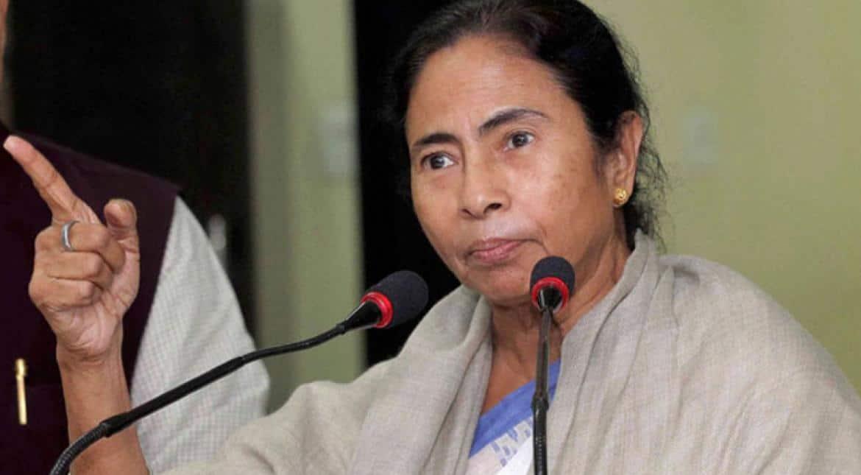 BJP candidate threatens Trinamool workers, Mamata Banerjee hits back