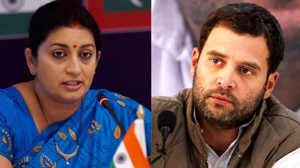 Smriti Irani lashes out after Rahul Gandhi cancels visit to Amethi