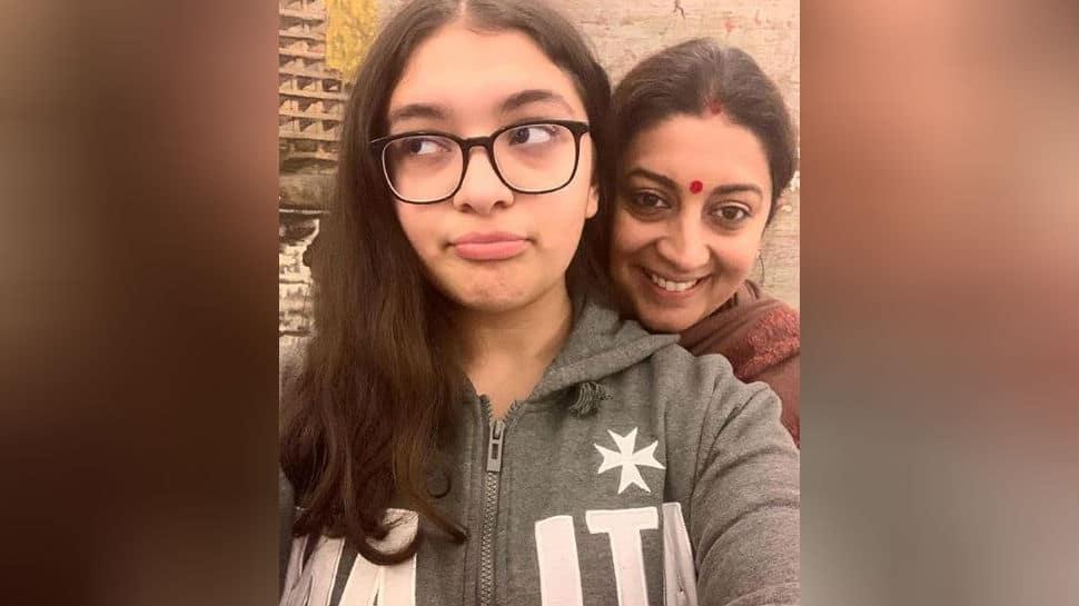 Proud: Smriti Irani tweets after daughter scores 82% in CBSE Class 10 exams