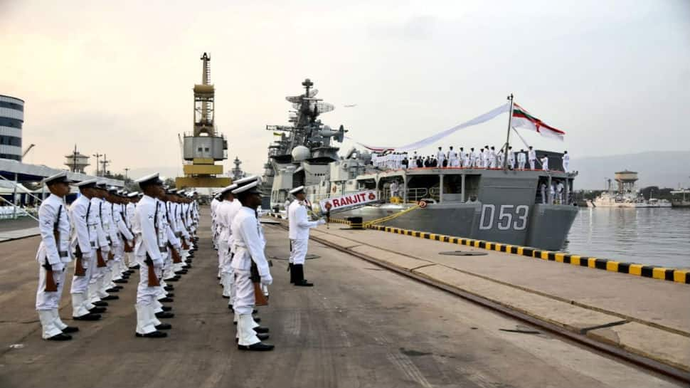 INS Ranjit decommissioned after 36 years in service
