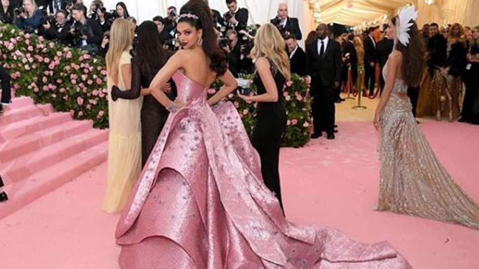 Deepika Padukone looks straight out of a fairytale at Met Gala 2019