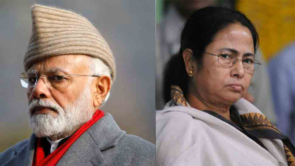 After sweets with pebbles, Mamata Banerjee targets PM Modi with 'tight slap of democracy' remark