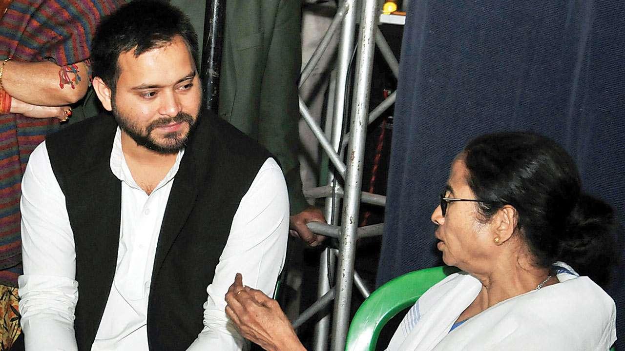 Tejashwi defends Mamata Banerjee, says Sushma Swaraj must tweet about PM Modi's remarks too