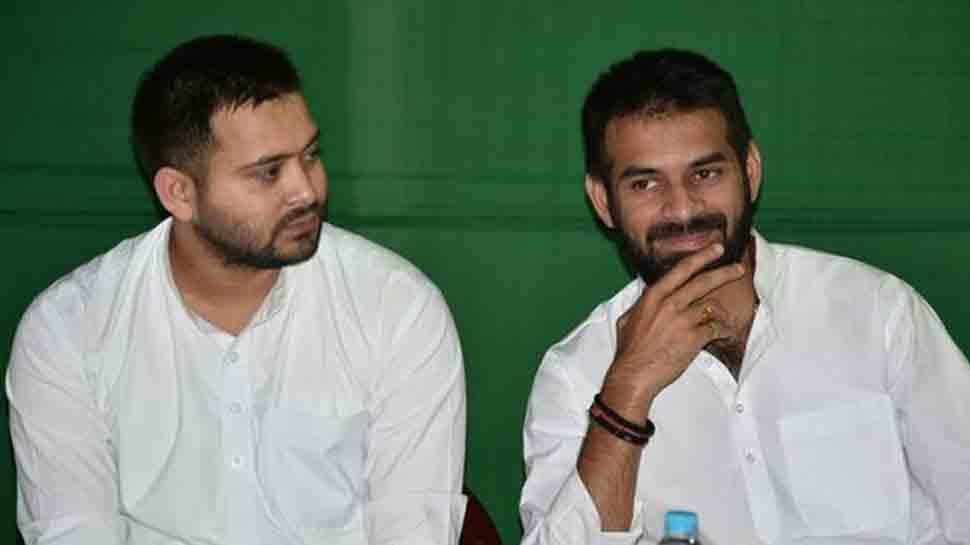 Tej Pratap Yadav attacks brother Tejashwi for proximity to RSS