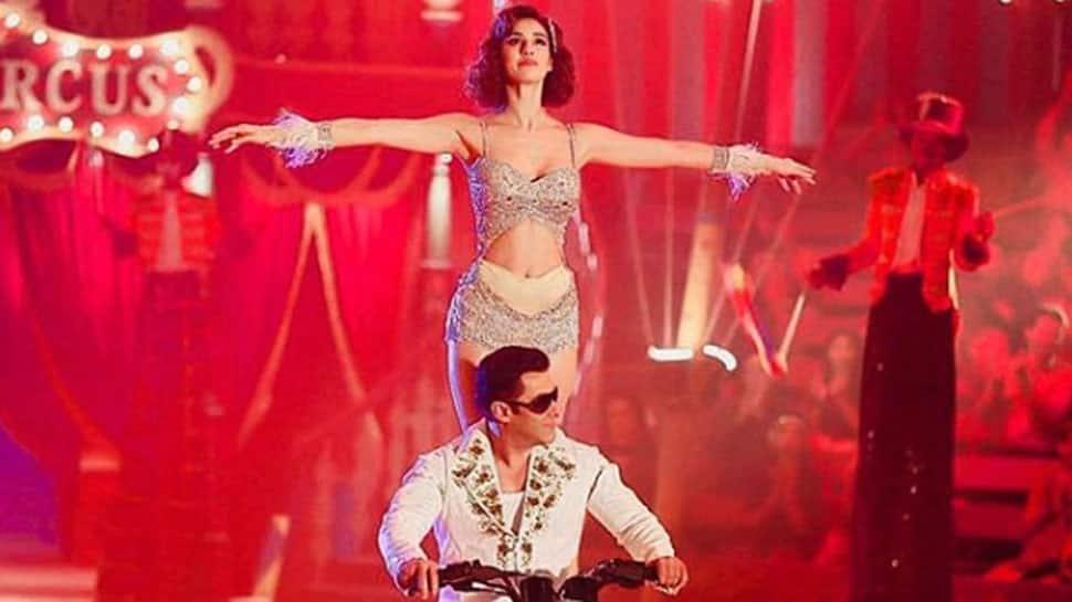 Watch how Disha Patani-Salman Khan's circus act was created
