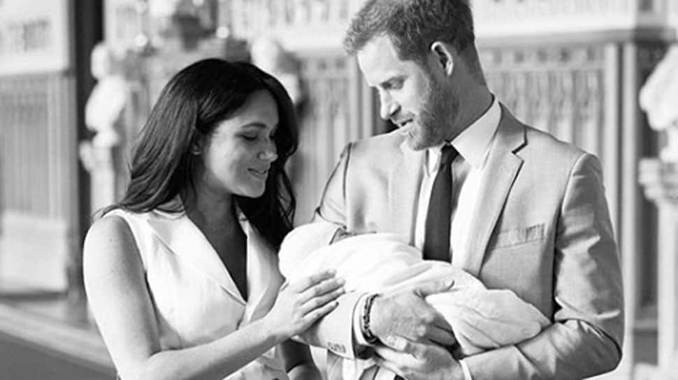 Meghan Markle-Prince Harry share first glimpse of royal baby boy—Watch