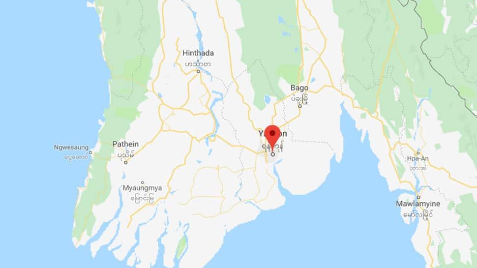 Biman Bangladesh plane skids off runway at Myanmar's Yangon airport injuring 17 people
