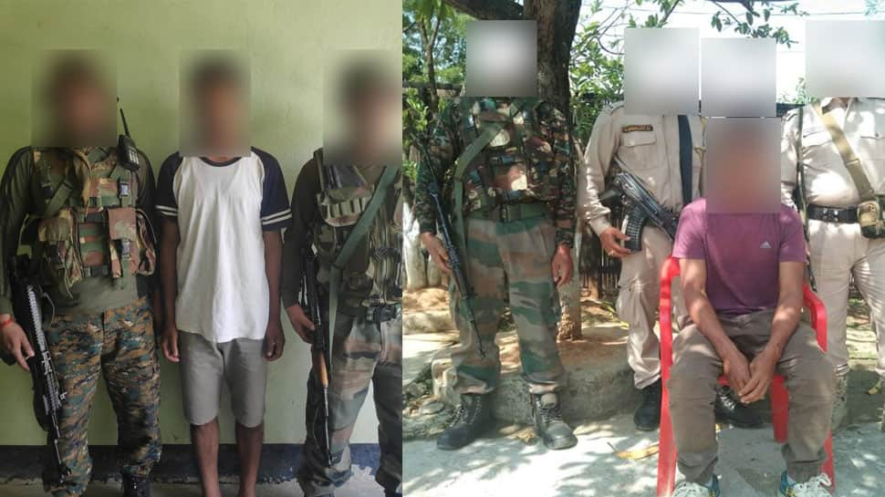 Two terrorists apprehended in Manipur: Army