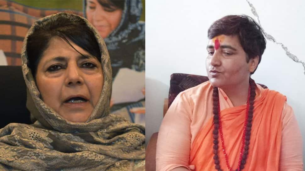 Mehbooba Mufti hits out at Twitter India over 'terror accused' Sadhvi Pragya's verified account