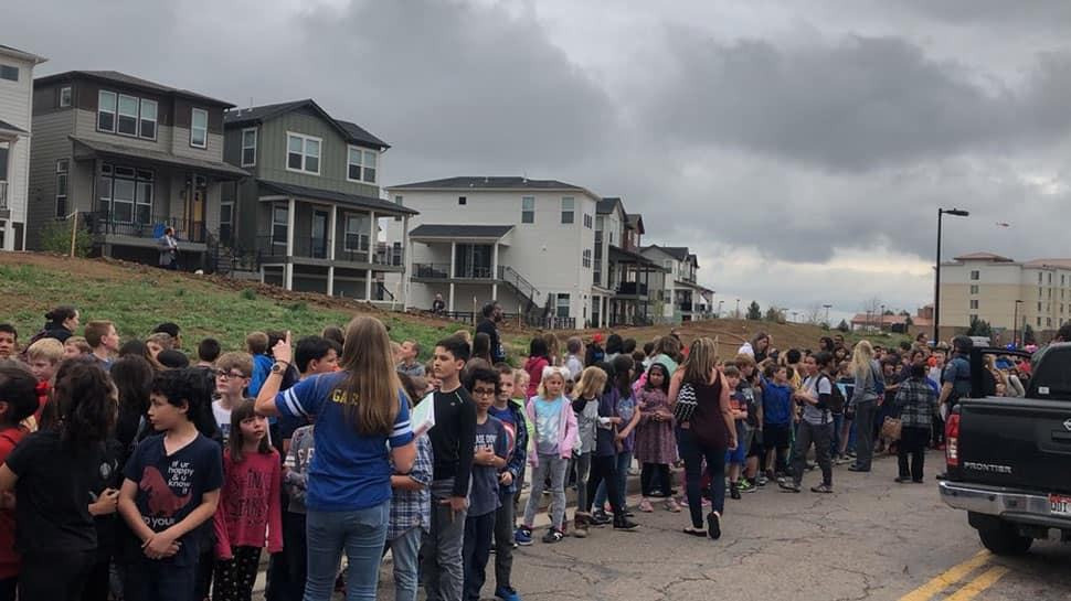 Two students arrested in Colorado school shooting make first appearance