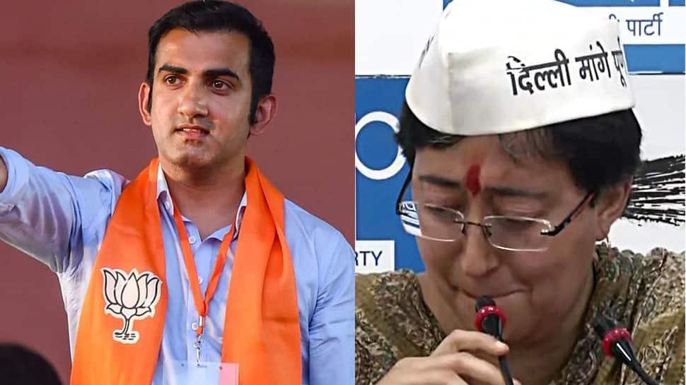 BJP's Gautam Gambhir challenges AAP leader Atishi over alleged derogatory pamphlets