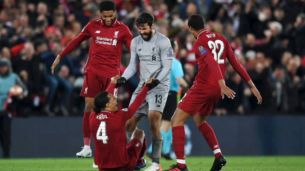 Liverpool ball boy an unlikely hero in their epic Barcelona comeback