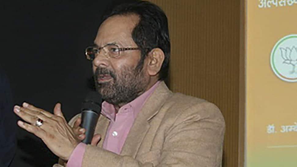Sam Pitroda rubbed salt into wounds of 1984 riot victims: Mukhtar Abbas Naqvi