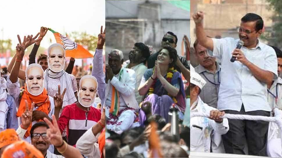 Campaigning ends for sixth phase, voting on May 12; Maneka Gandhi, Akhilesh Yadav, Digvijay Singh, Sadhvi Pragya Singh in fray