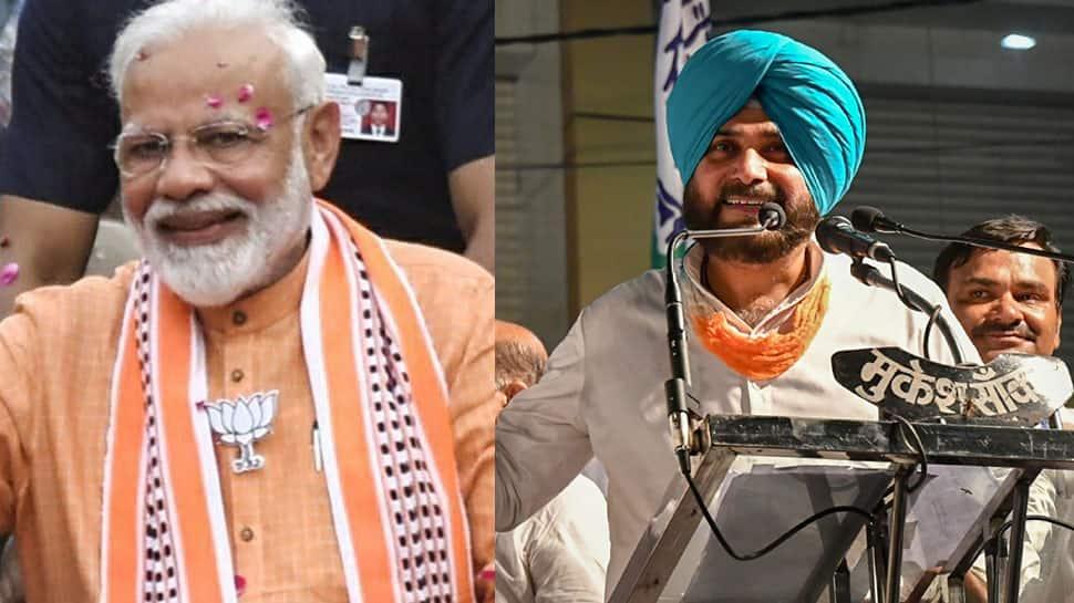 Congress leader Navjot Singh Sidhu in fresh EC trouble for his remarks against PM Narendra Modi