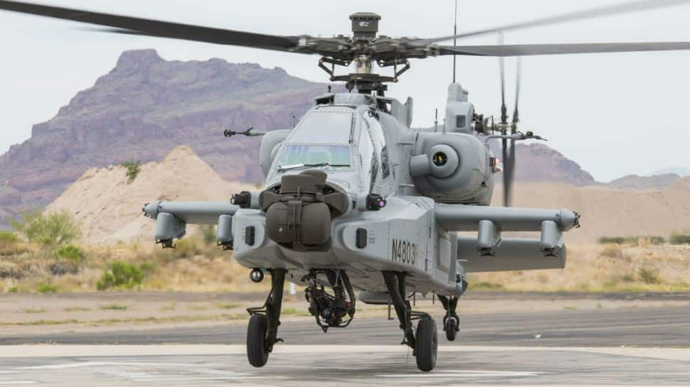 IAF adds more teeth as Boeing hands over first AH-64E Apache Guardian attack helicopter to India