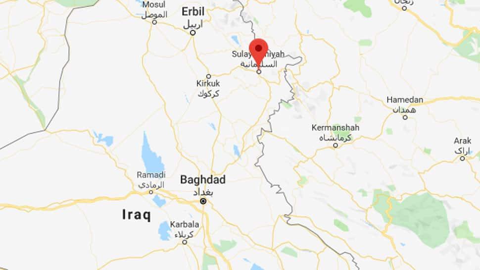 Magnitude 5.3 earthquake strikes near Iraq's Sulaimaniya: USGS