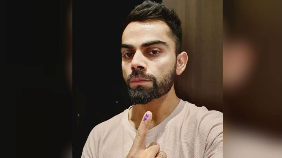 Virat Kohli casts his vote, urges others to exercise their 'right'