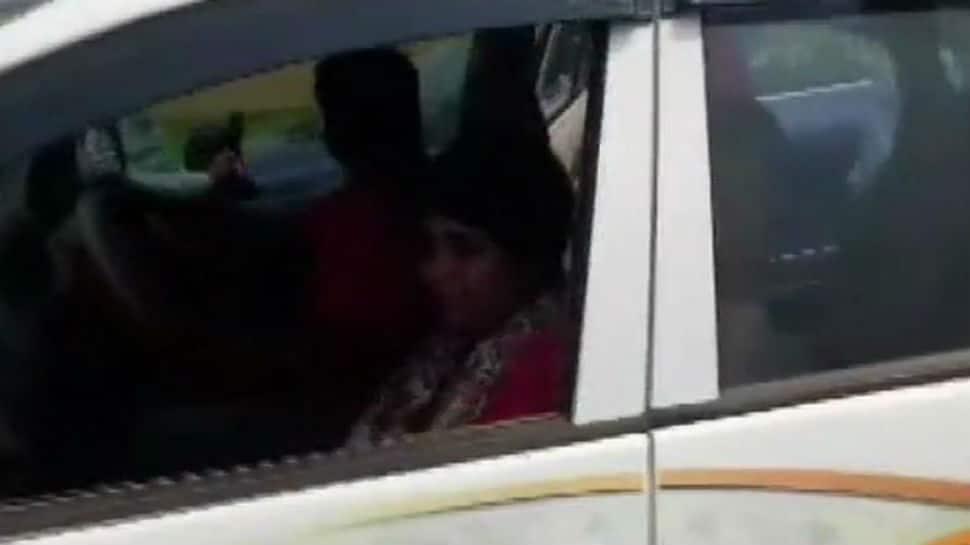 Stones pelted at BJP candidate Bharati Ghosh in West Bengal's Ghatal, her car vandalised