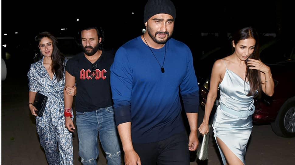 Kareena Kapoor-Saif Ali Khan go on a double date Malaika Arora-Arjun Kapoor