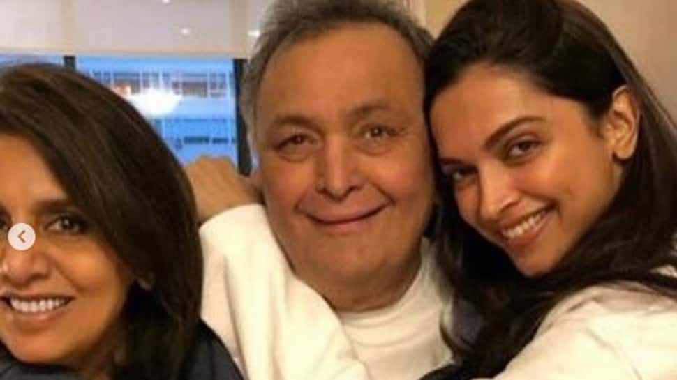 Deepika Padukone visits ex-boyfriend Ranbir Kapoor's parents Rishi-Neetu in New York