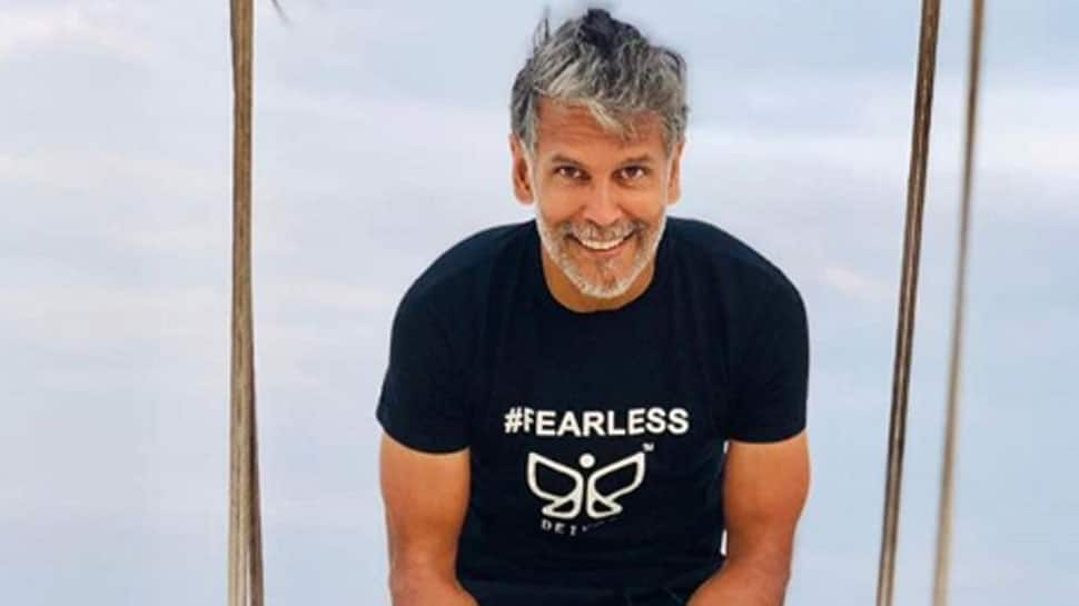 Milind Soman's 80-year-old mom does push-ups