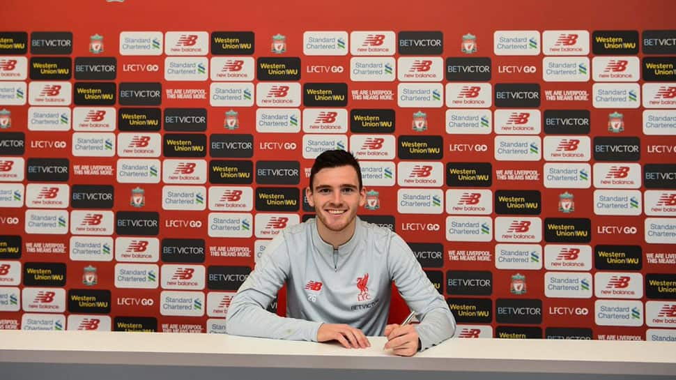 Liverpool will learn from title race heartbreak, says defender Andy Robertson