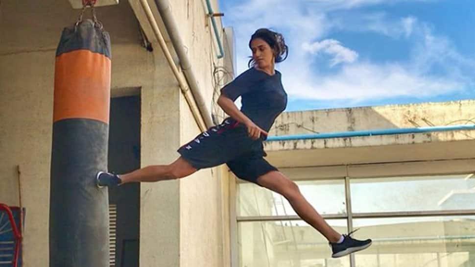 Disha Patani's butterfly kick is jaw-dropping—Watch