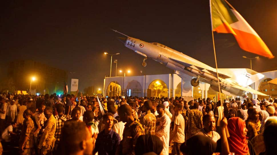 Four die in Sudan protests as military rulers say won't allow 'chaos'