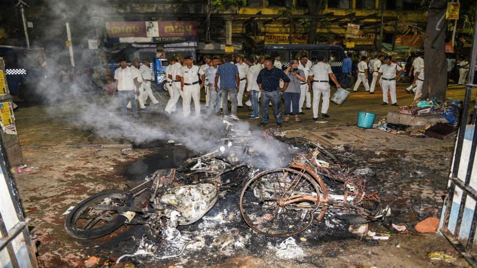 Amit Shah flays Mamata Banerjee for violence during his Kolkata roadshow