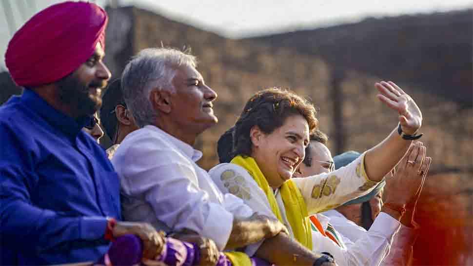 Priyanka Gandhi blames SAD for desecration of Guru Granth Sahib