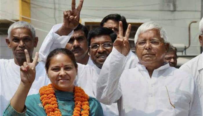 In Pataliputra, a battle between Lalu Prasad Yadav's family and his former aide
